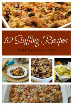 10 Delicious Thanksgiving Stuffing Recipes