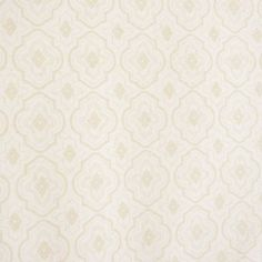 Cameo Wallpaper - Cream (07158/04) - Colefax & Fowler  Baptista Wallpapers Collection