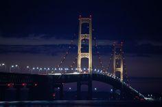 10Best: Beautiful Bridges: Slideshows Photo Gallery by 10Best.com - Mackinac Bridge, Mackinac, Mich.