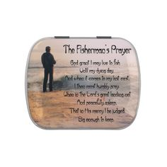 Customize ProductThe Fishermans Prayer Jelly Belly Candy Tins