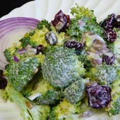 Broccoli and Sunflower Seed Salad