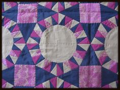 quilt - patchwork pink