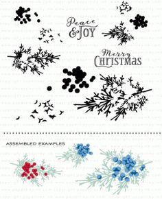 Beautiful Berries: Winter Stamp Set