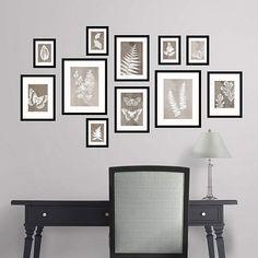 Neutral hue sun prints from Martha Stewart Wall Art Decals! @Fathead