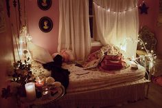 Romantic Pink Bedroom Design