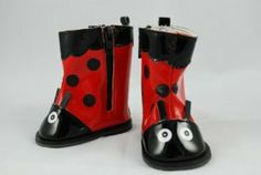 Ladybug Boots for 18 Inch Dolls Including the American Girl Line by Unique Doll Clothing. $13.99. Fits 18 Inch Dolls Including American Girl Dolls. Keep your Dolls Feet Dry!. Very Cute Design. Go Perfect with Ladybug Raincoat. Our exclusive design rain boots. A perfect match for any raincoat, especially our Ladybug model.