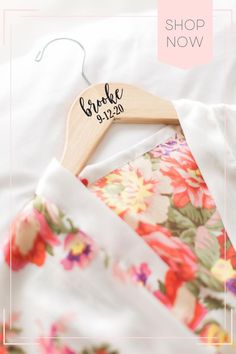This personalized bridesmaid hanger for the bride and bridesmaids is a unique idea for your wedding hanger dress photos and for your bridal party as a keepsake to remember for years to come! Perfect for the brides wedding dress and for the entire wedding party. bridesmaid gifts, bridesmaid boxes, getting ready outfit, bridal robe, wedding ideas, wedding photo ideas, bridesmaid proposal Monogrammed Bridesmaid Gifts, Bridesmaid Gifts Unique, Bridesmaid Gift Bags, Personalized Wedding, Bridesmaid Proposal, Bridesmaids, Bridesmaid Ideas, Bride Hanger, Wedding Dress Hanger