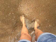 Golden sand!