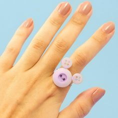 Minnie Mouse Inspired DIY Ring