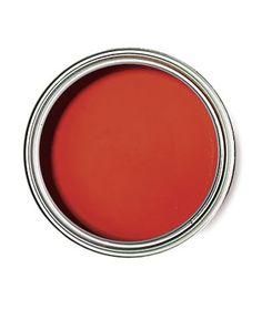 """Sherwin Williams Habanero Chile as the perfect red to paint your """"flea market finds"""" by Real Simple magazine.a side table in my family room Front Door Color. Paint Stain, Red Paint, Painting Tips, House Painting, Paint Color Schemes, Flea Market Finds, Paint Colors For Home, Cool Paintings, Real Simple"""
