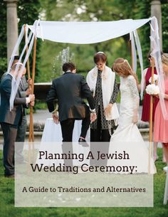 Free 36-page digital guide to planning a Jewish wedding