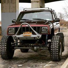 Save by Hermie Jeep 4x4, Jeep Xj Lift, Jeep Sport, Jeep Xj Mods, Jeep Cars, Jeep Truck, Comanche Jeep, Jeep Cherokee Accessories, 1999 Jeep Cherokee