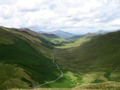 The Newlands Pass road and Keskadale Beck, Lake District, Cumbria, England Lake District Walks, Cumbria, My Ride, Great Britain, Places To Visit, England, Mountains, Park, British Isles