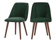 2 X Lule Armlehnenstühle, Samt In Glutorange ▻ Neues Design Für Dein  Zuhause! Entdecke