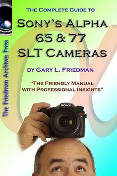 Highly recommend this book to learn everything about the Sony Alpha A77 Camera but make sure to buy volume 1 and 2 at the same time for it is really one book bound in books. Also discussed in the Google+ Sony Alpha SLT- A77 Community: https://plus.google.com/communities/110301991098554770444/