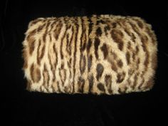 Vintage Antique Fur Muff Hard Warmer Pouch Velvet Lined Zipper Purse  Holiday   eBay Aujourd, a6e42aee20b