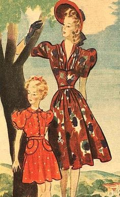 1940s for the Modern Gal blog: I often get asked how can a modern woman dress in the 1940s style?  The 1950s and 1960s styles are readily available and identifiable, with big crinolines or mini skirts but the 1940s seem to elude us.  Whether you are going to a themed party, night on the town, or a swing hangar dance, the 1940s style is a great option.