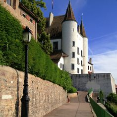 Nyon Switzerland, I will live here The Places Youll Go, Places Ive Been, Places To Go, Rives, Beaux Villages, Belle Villa, Lausanne, Kirchen, Cityscapes