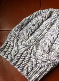 Hat in gorgeous cashmere blend wool from The Uncommon Thread. Pattern is All That Jazz.