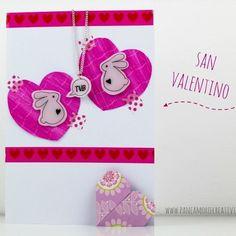San Valentino: biglietto con collana fai da te