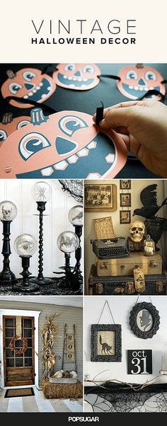 If your go-to Halloween decorations are beginning to feel more stale than spooky, it might be time to reevaluate your holiday look. Why not give your home a haunted Halloween refresher with charming vintage-inspired decor?