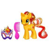 My Little Pony Sunset Shimmer met masker