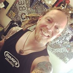 #Repost @bkerchofficial: Sporting my sweet @evansdrumheads tank today. Spring is upon us. #lifeisgood #florida #campaignagainstnegativity #lifeisgood #drumnerd #shinedown #barrykerch