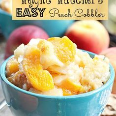 Weight Watchers Easy Peach Cobbler Recipe - Key Ingredient
