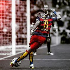 Rabona of Neymar Barcelona vs Espanyol Neymar Jr, Neymar Football, Football Drills, Neymar Barcelona, Barcelona Team, Lionel Messi, Good Soccer Players, Football Players, Cristiano Ronaldo