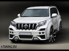 Toyota Land Cruiser Prado 150 FJ150 Body Kit Front Bumper Rear Lip AGGRESSIVE | eBay Motors, Parts & Accessories, Car & Truck Parts | eBay!