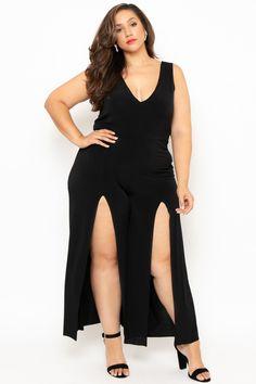 a066dc4b20 Plus Size Belami Jumpsuit- Black
