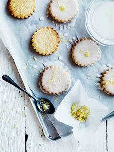 lemon glazed biscuits