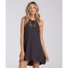 Billabong Happy Place Dress | Off Black