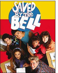 Saved By The Bell - Zack, Kelly, AC Slater, Jessie, Lisa, & Screech