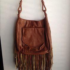 Leather fringe billabong purse Leather fringe billabong purse Billabong Bags