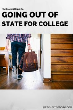 The Essential Guide to Going out of State to College everything you need to know to plan and prepare for living away from home. #collegelife #cortatcollege #ad