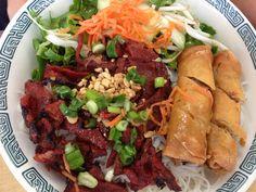 Lunch:Vietnamese Bun Vermicelli Salad