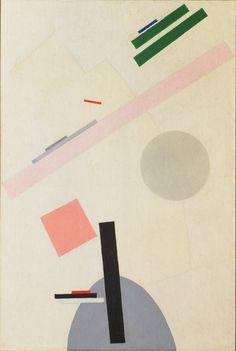 Kazimir Malevich Suprematist Painting. 1916-17