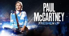 Freshen Up is a concert tour by English musician Paul McCartney that commenced on 17 September 2018 with a four-concert leg in Canada. The tour was McCartney. Paul Mccartney Albums, Paul Mccartney Live, European Summer, European Tour, Band On The Run, Can't Buy Me Love, Back In The Ussr, Lady Madonna, Dodger Stadium