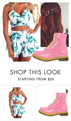 """Untitled #6709"" by carmellahowyoudoin ❤ liked on Polyvore featuring Dr. Martens and Tiffany & Co."