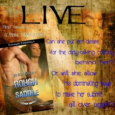 *´¨) LIVE ¸.•´¸.•*´¨) ¸.•*¨) (¸.•´ (¸.•` ROUGH IN THE SADDLE  The Sterling Brothers series, book one  Jenika Snow  #Buylinks: Amazon US:http://amzn.to/1JrjylR Amazon UK:http://amzn.to/1OCZVZt Amazon AU:http://bit.ly/1JrjNx8 Amazon CA:http://amzn.to/1Fc9wGa  #FavoriteAuthor #TBR #Books #OneClick #5Stars #NewReleases #Cover #Teaser #ilovebooks #fangirl #bookfanatic #goodreads #mustread