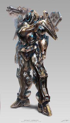 superheavy fantasy armour - Google Search