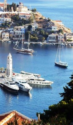 Our tips for 25 Fun Places to Visit in Greece… Places Around The World, Oh The Places You'll Go, Places To Travel, Places To Visit, Around The Worlds, Beautiful Islands, Beautiful Places, Myconos, Sailing Holidays
