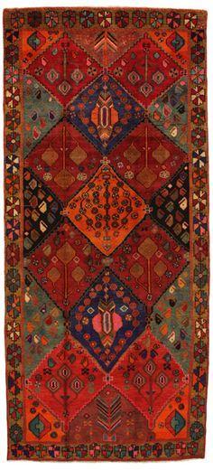 Bakhtiari - Gabbeh Persian Carpet  | nmd8175-783 | CarpetU2