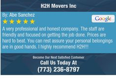 A very professional and honest company. The staff are friendly and focused on getting the...