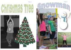My Little Yoga Book: Winter Wonderland. 12 pages of fun winter and holiday themed poses with bright pictures and easy to follow instructions! Ages 2+ www.LittleTwistersYoga.com Family Yoga, Yoga Books, Bright Pictures, Winter Wonderland, Snowman, Brain, Poses, Christmas Ornaments, Holiday Decor