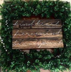 Inspirational Wood Sign  Christian Values sign  by truelovecreates