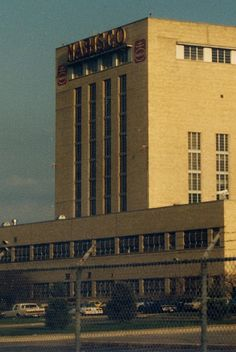 Nabisco factory, Kedzie & 73rd, 1989, by Eddie from Chicago (Chicago Pin of the Day, 2/23/2015).