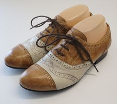 Miz Mooz Womens Size 8 Histeric Oxford Brown Leather Laced Shoes #MizMooz #Oxfords #Casual