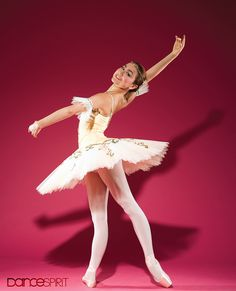 """""""First Position"""" prodigy Miko Fogarty is all grownup and ready to shine. (Photo by Nathan Sayers for Dance Spirit)"""